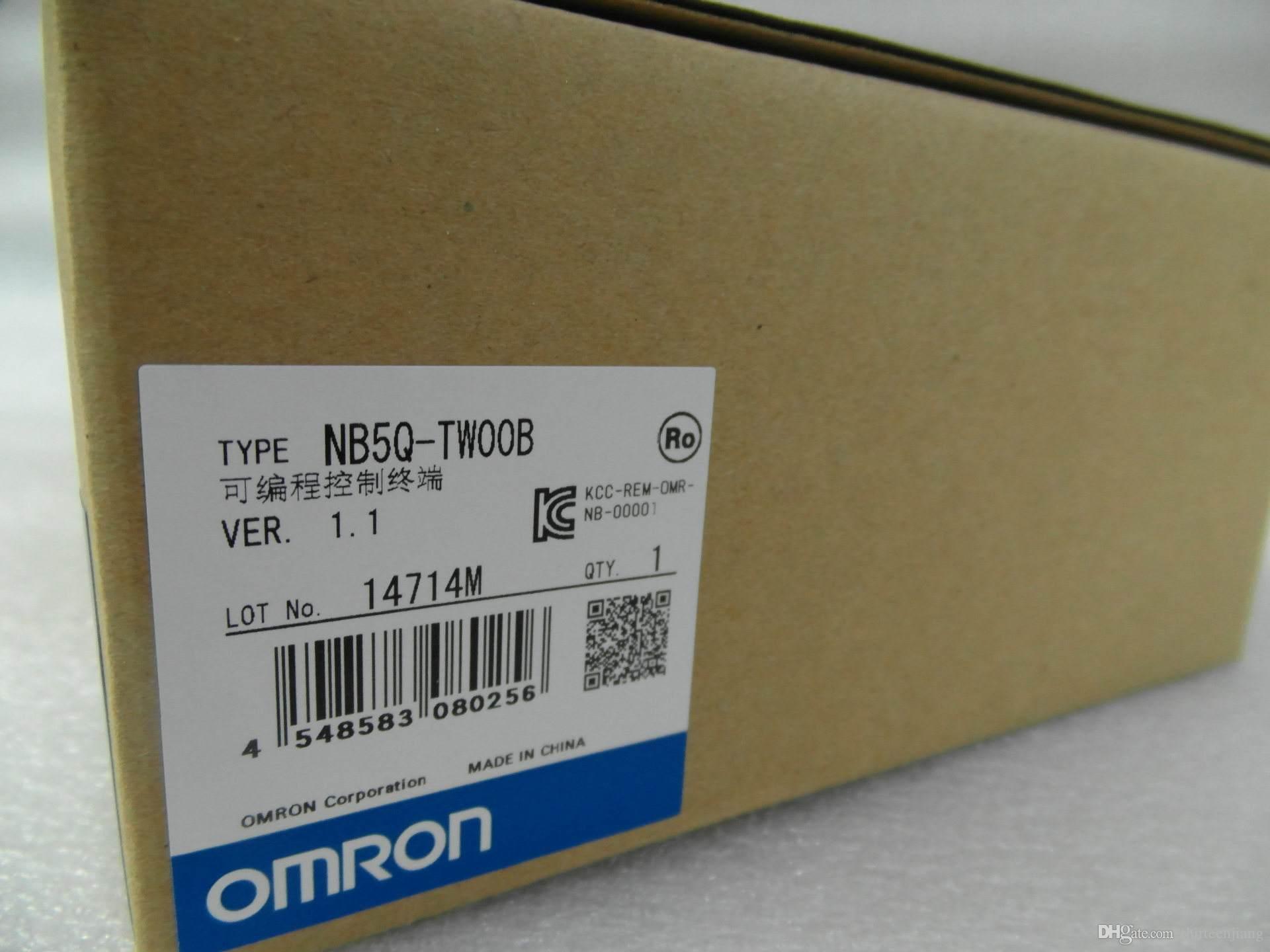 Original Omron HMI Painel de Toque NB5Q-TW00B NB5Q-TW01B Frete Grátis Expedido Novo Na Caixa