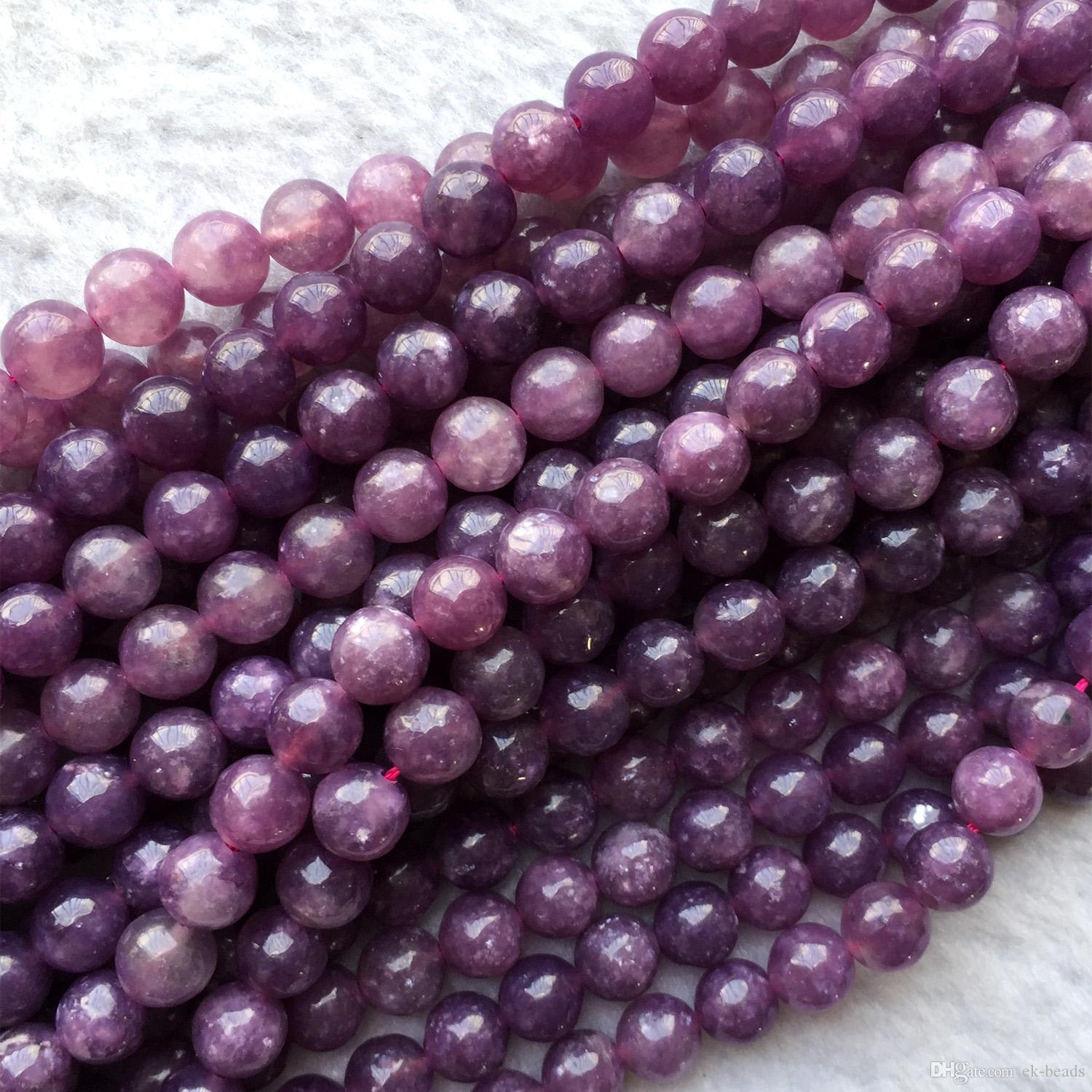 12MM PINK TURQUOISE GEMSTONE LILAC ROUND 12MM LOOSE BEADS 16/""