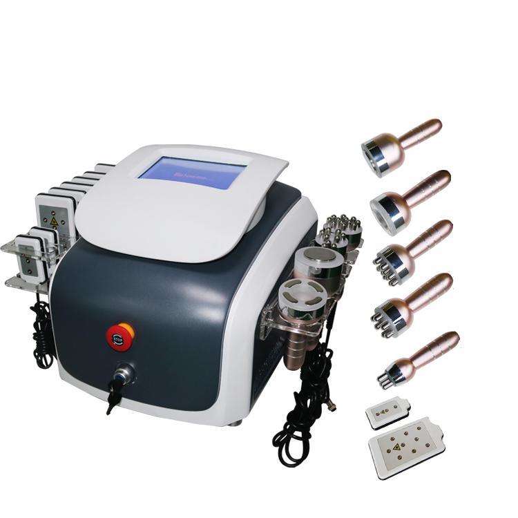 Новый дизайн машина красотки 40K кавитации ультразвуковой вакуум RF уменьшая машину лазера LiPo тучное удаление, потеря веса для похудения Бо