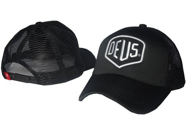 الجملة حار نادر ديوس أيقونة التطريز شعار قبعة الرجال النساء أسود sunless البيسبول للتعديل 6 لوحة سنببك كاب العظام غنيمة مجانية