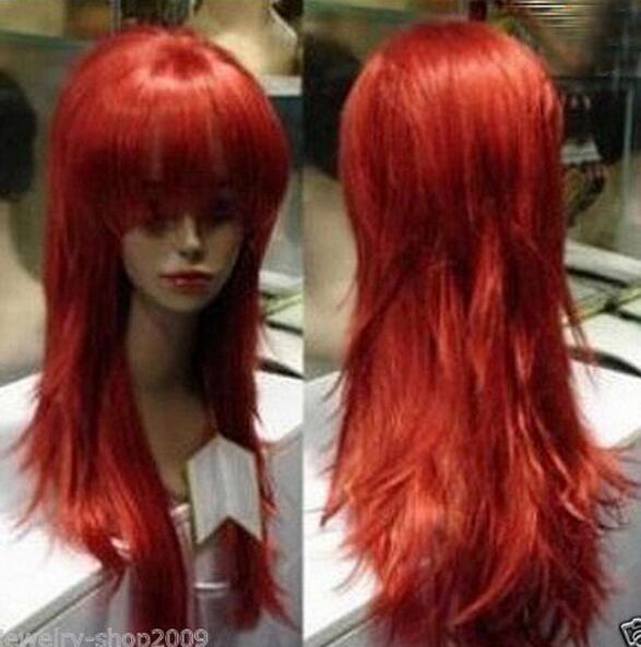 LIVRAISON GRATUITE +++ Nouvelle perruque longue perruque longue perruque droite