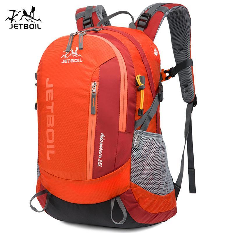 Mochila ultraligente al aire libre Viaje Paquete de viaje Mochila Nylon Camp Backpacking estudiante impermeable montañismo SBTCX