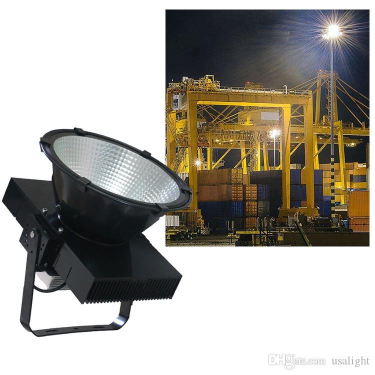 Башенный кран лампа 100-305v 200w 300w 400w 600w 800w 1000W светодиодные прожектора водить башни фары высотного Industrail фары Кри чип прожектор