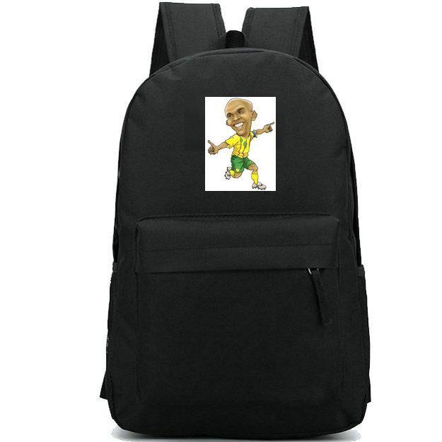 Etoo sırt çantası Samuel Eto o Fils okul çantası Sıcak Futbol hayranları baskı sırt çantası Futbol oyunu schoolbag Açık sırt çantası Spor günü paketi