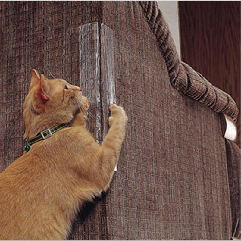 2pcs / set Cat Scring Guard Sofa ... ... Anti-scrap Pad ... ... Guard Cats Scringbads Home Furniture HHA1070