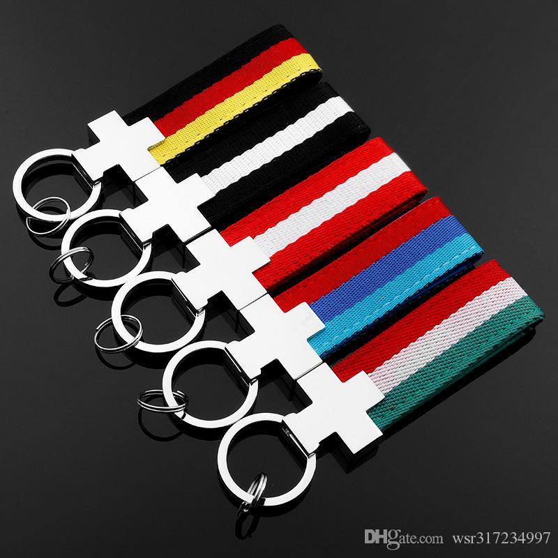 GERMAN Flag Keyring
