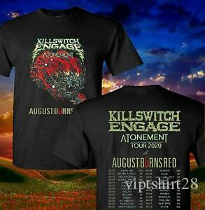 Killswitch Engage 2020 Espiazione Concerti T Shirt