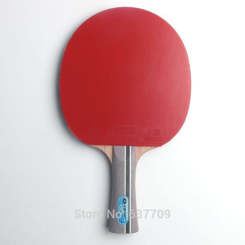Original Galaxy yinhe 04b table tennis rackets finished rackets racquet sports pimples in rubber ping pong paddles C18112001
