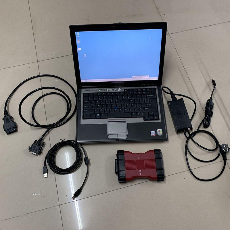 herramientas superior VCM2-E diagnóstico del coche para FRD para Mazda VCM IDS ii V106 OBD2 herramienta de VCM 2 con D630 portátil listo para su uso