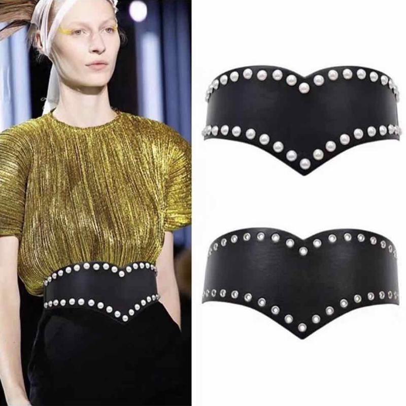 벨트 숙녀 플러스 여성을위한 크기 벨트 코르셋 고품질의 허리는 넓은 탄성 ceinture 2020 cintos을 팜므 커머 번드