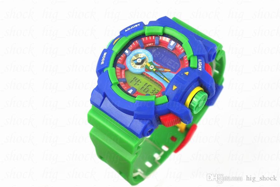 relogio Masculino Casual Nova chegada Popular 400 relógio de pulso digitais, esportes dos homens marca reloj relógio cronógrafo
