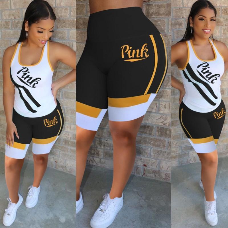 Women outfits 2 piece set women brand tracksuit summer women clothes jogging sport suit sweatshirt tights sport suit klw3701