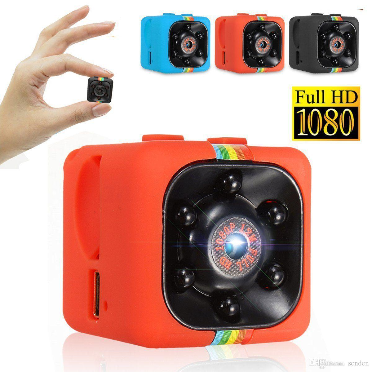 SQ11 كاميرا مصغرة HD 1080P للرؤية الليلية كاميرا مصغرة عمل كاميرا فيديو DV تسجيل صوتي كاميرا مايكرو