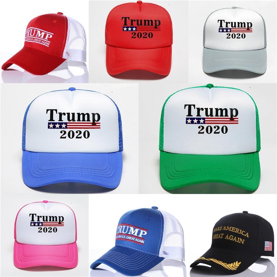 Trump Baseball Hat Keep America Great lettre imprimée Hats Donald Trump 2020 Cap Camouflage Snapback Ljjo7534-1 # 564