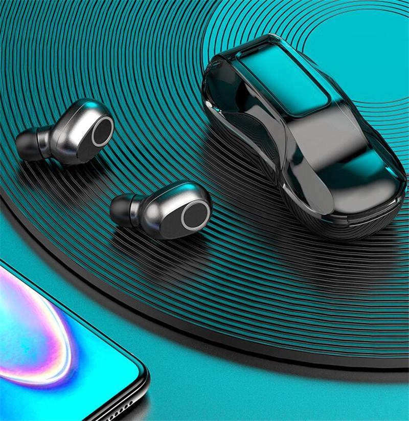 TWS B-02 Touch wireless Bluetooth 5.0 наушники модель автомобиля B02 наушники-вкладыши наушники водонепроницаемый мини-гарнитура звук спорт бесплатно DHL