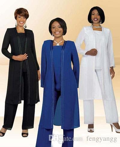 بانت الشيفون المرأة الدعاوى بالإضافة إلى حجم 3 قطع مع الأم سترة طويلة من فستان العروس