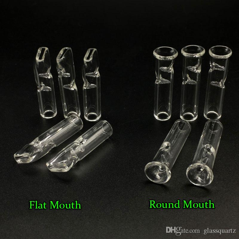 DHL shipping!! Mini Glass Filter Tips for Dry Herb Tobacco RAW Rolling Papers With Tobacco Cigarette Holder Thick Pyrex glass Smoking Pipes