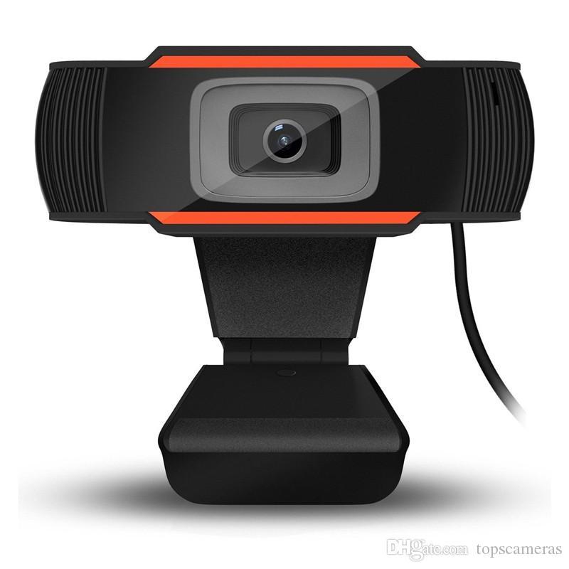 USB 2.0 PC Camera 1280x720 Video Record HD Webcam Web Câmeras com computador MIC para laptop Skype