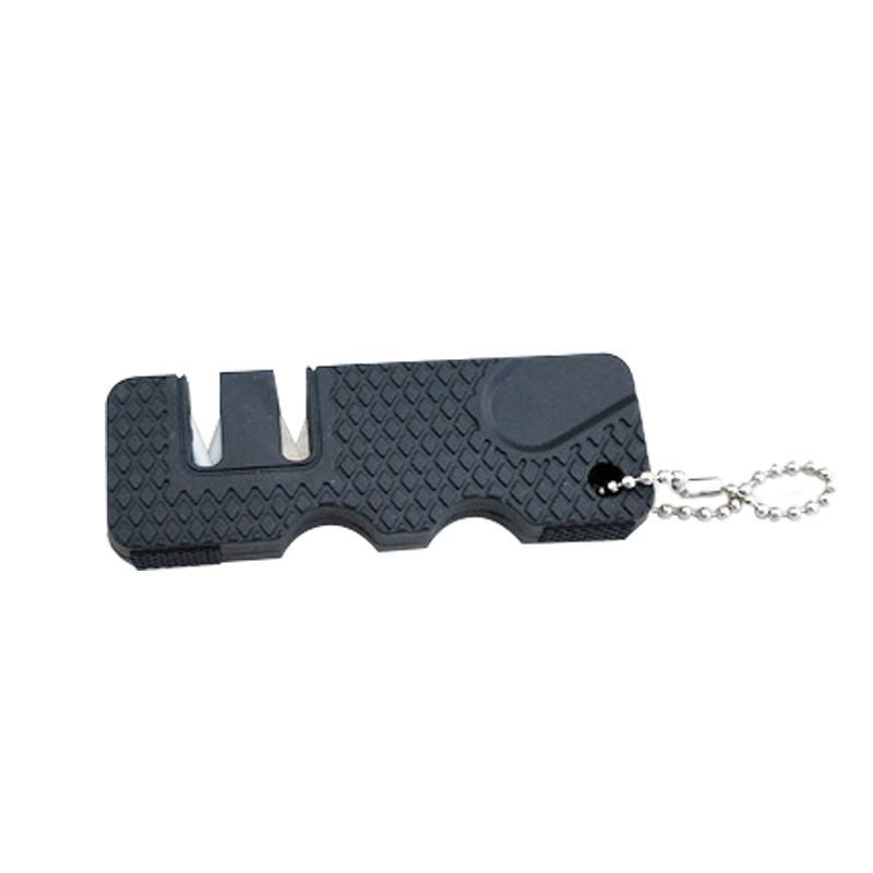Folding portátil Tungsten Outdoor Camping Caminhadas Sharpener de faca lâminas afiação de ferramentas de pedra Grinder Faca Tesoura Whetstone
