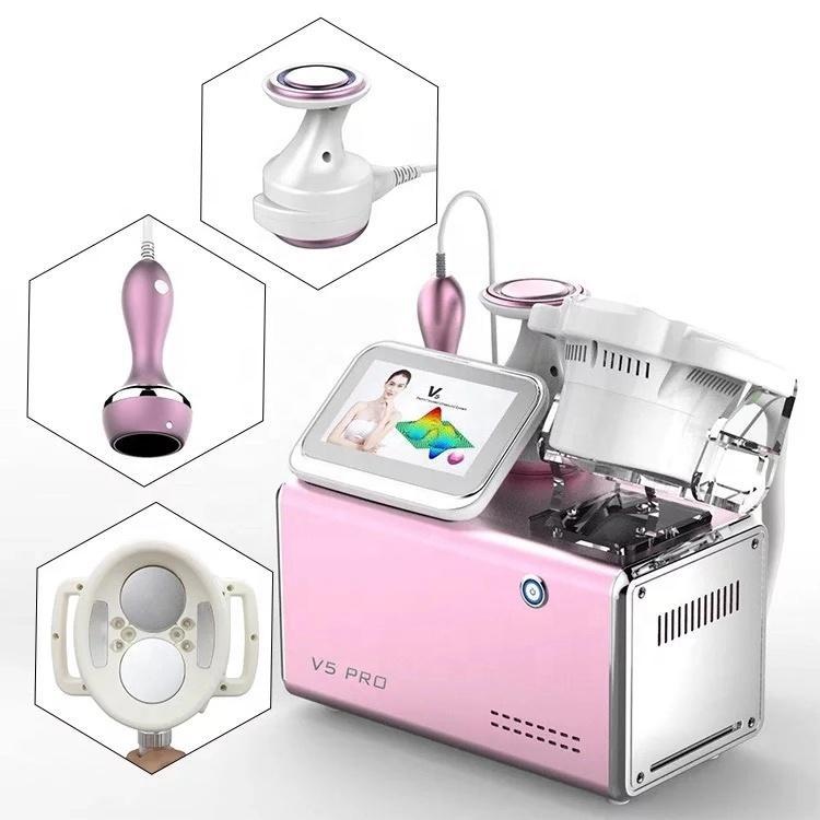 En Yeni güzellik ekipmanları 5 1 HIFU içinde - RF - Kavitasyon + vakum + BIO Makine Ağırlığı için Kaybı Vücut zayıflama Vücut Masaj Güzellik makinesi