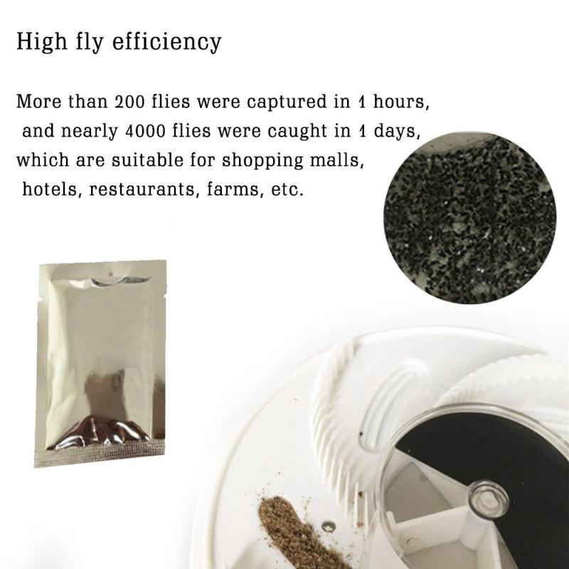 1/2/3/5/10 / 50bags Casa Barata Armadilha Repelente Killing Bait Strong Fixo Catcher Armadilhas moscas Pest Repeller amigável Eco-