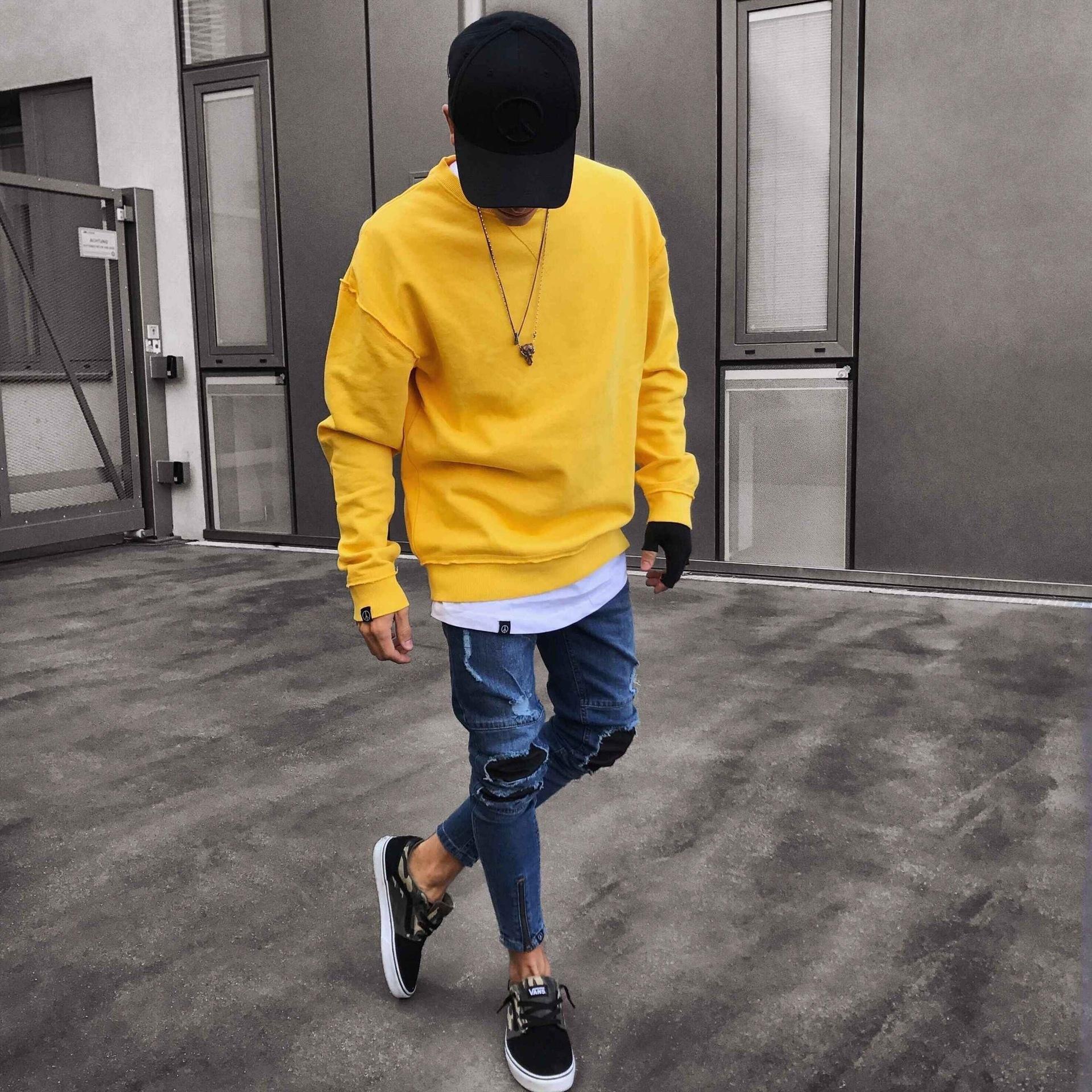 Mens конструктора джинсовые голубые джинсы кроссировочных Мода Мужской Rapper Скейтборд Байкер Карандаш джинсы