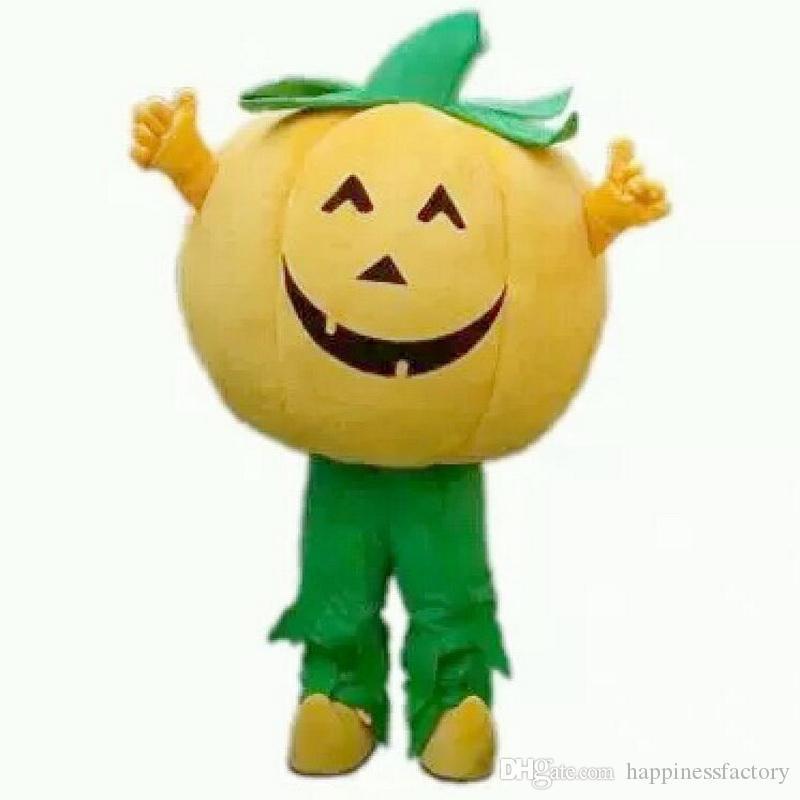 2019 Remise vente d'usine EVA Matériel Casque Super grande citrouille Mascot Costumes Crayon Bande Dessinée Vêtements Anniversaire fête Masquerade