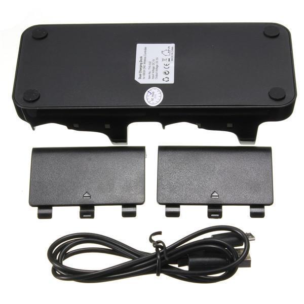 USB de carga dual Controladores muelle del cargador con baterías por X Uno