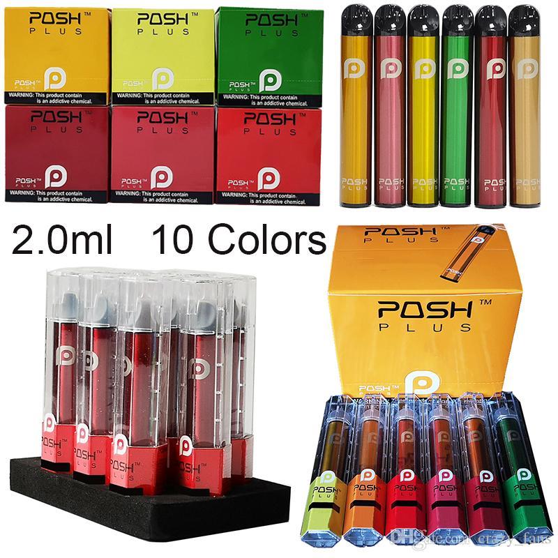Posh plus jetable appareil Pod Starter Kits batterie vide de gousses de Vape 280mAh Vape Stylos E de __gVirt_NP_NNS_NNPS<__ Cigarettes Vape