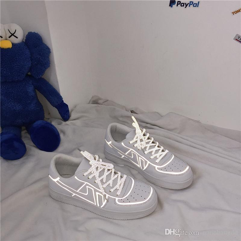 Herren vulkanisierte Schuhe schnüren Mode Schuhe Sommer Männer Casual Sportschuhe 2019