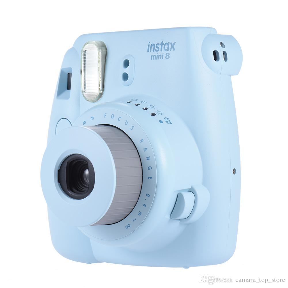 Fujifilm Instax Mini 9 Камера Мгновенный фильм Фотоаппарат Mini 9 5 Цвет Бесплатная Доставка