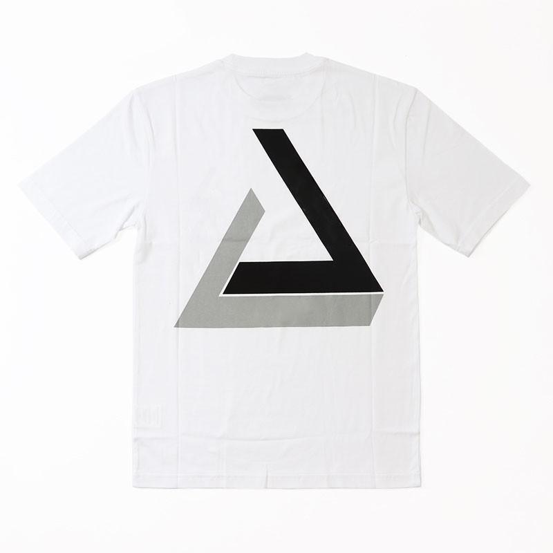 18FW PAL Penrose Triangle Tri-Shadow T-shirt De Skateboard Mode Casual Rue Simple À Manches Courtes D'été Respirant Tee Extérieur HFTTTX029