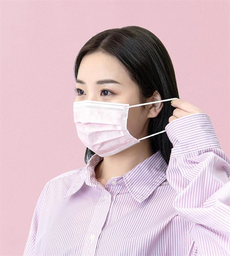Yüz Koruyucu er Maskesi FaMouth maskeler toz geçirmez Ücretsiz Kargo 3 Katmanlar Jason Anti Toz Tek Salon earloop Ağız Maskesi