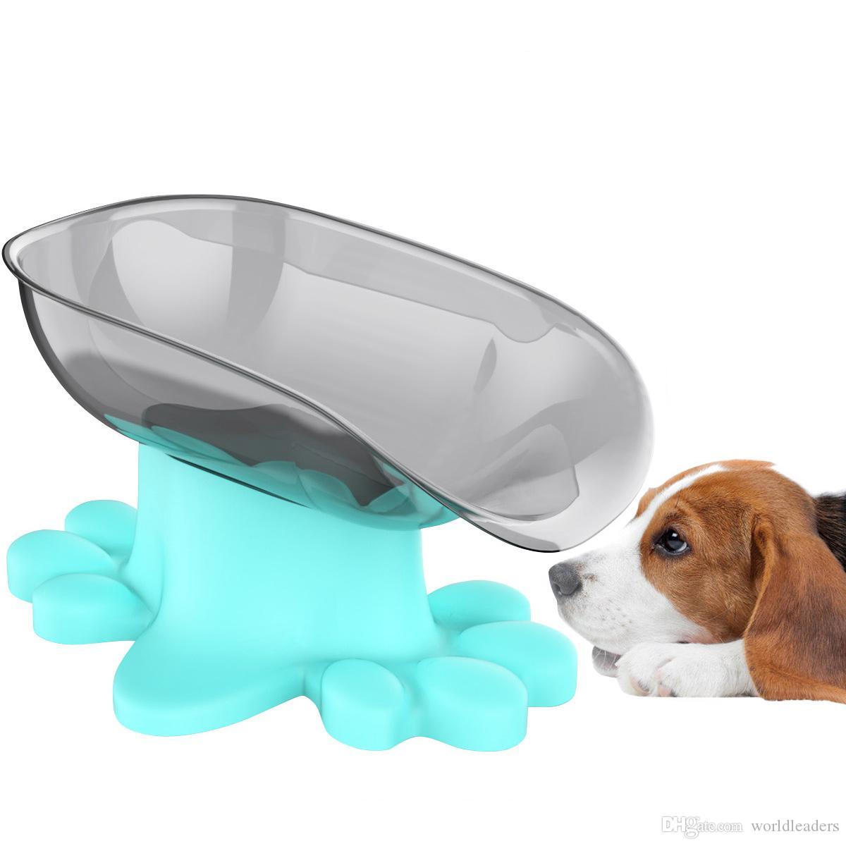 Кота собаки любимчика еда контейнер чаша бутылка воды портативный чашки путешествия открытый Фидер чаша 600мл Маленький большой собак Pet продукты