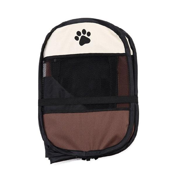 Portable Folding Pet Tent Dog House Cage Dog Cat Tent Playpen Puppy Kennel Easy Operation Octagon Fence #A kennels pens