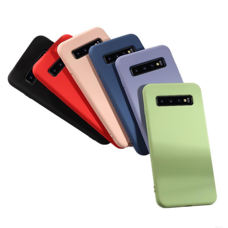Samsung Galaxy Note10 için Telefon Silikon Kılıfı S10PLUS M30 / A40S S9 Note9 S10 5g Yumuşak Kılıf Yeni