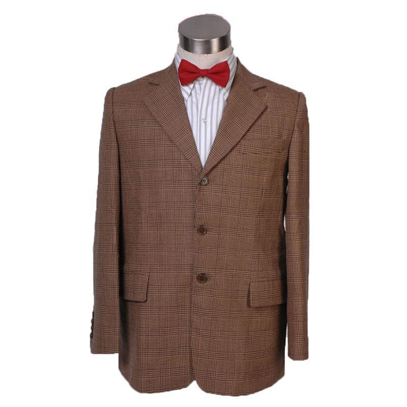 el envío libre que 11 Undécima traje de chaqueta de hombre de Cosplay del traje de la capa Outwear