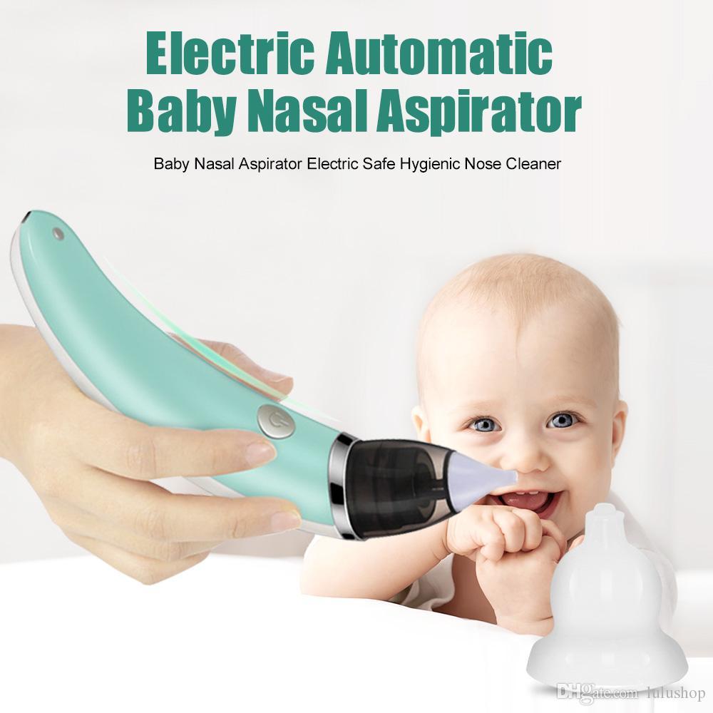 Newborn Safety Nose Cleaner Kids Vacuum Suction Baby Nasal Aspirator Supplies 6A