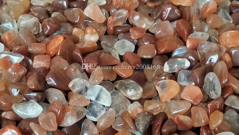 300g 3-5mm Nuture quarzo pietra minerale di roccia decorativo del ciottolo di pietra di modo sveglio Glow in the Dark Passerella Acquario Garden Fish Tank
