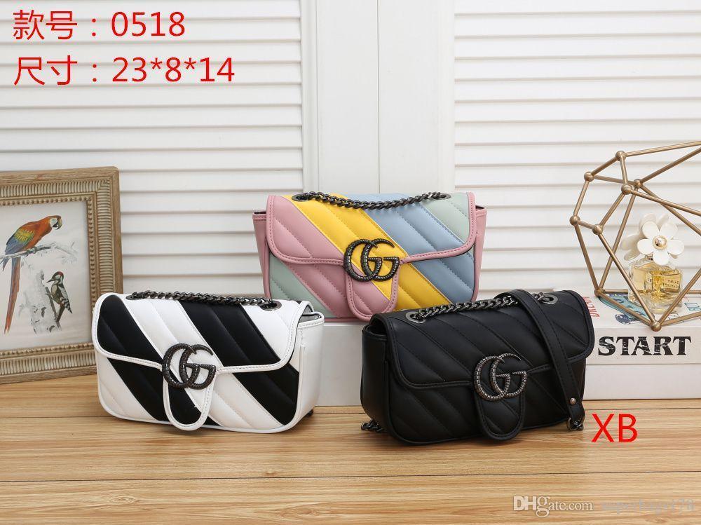 XB 0518 Mejor alta calidad del precio de las mujeres solas señoras de totalizador del bolso del morral del hombro del bolso del monedero