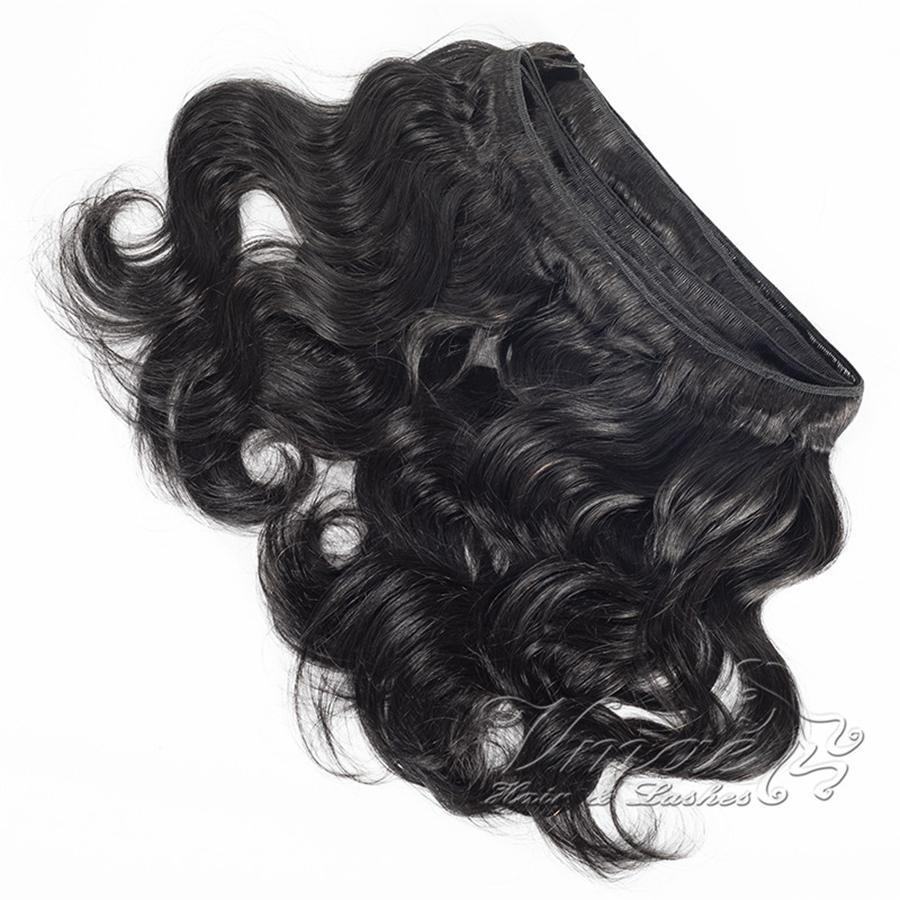 Virgin del brasiliano Peloso Wave 3 fasci onda del corpo Virgin brasiliano non trattato dei capelli umani tesse economico capelli ondulati 1B #