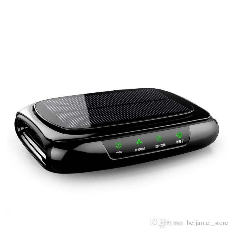 Mini purificatore d'aria autoalimentato solare di Candimill / tempismo intelligente del purificatore d'aria dell'automobile del nuovo veicolo di progettazione / plasma