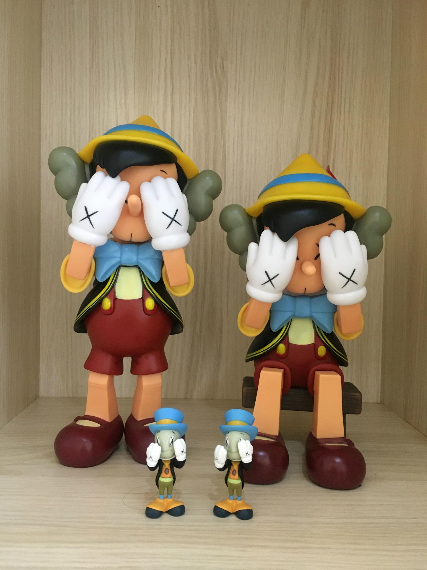 2109 le plus populaire poupée design créatif compagnon KAWS Dissected jouet cadeau Décoration PVC avec boîte de couleur