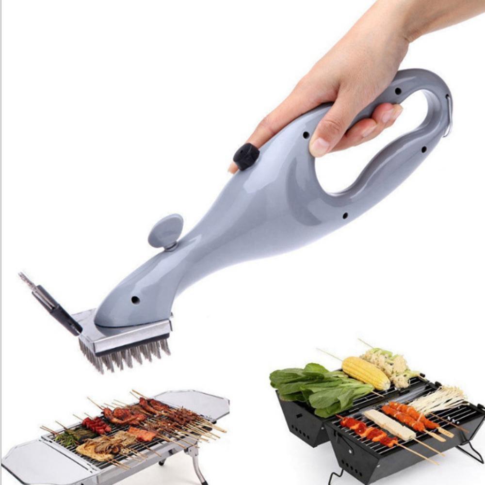 Acero inoxidable cepillo de limpieza exterior Barbacoa rack limpiador con vapor Accesorios de herramientas eléctricas de cocción barbacoa cepillo de limpieza HHA1288