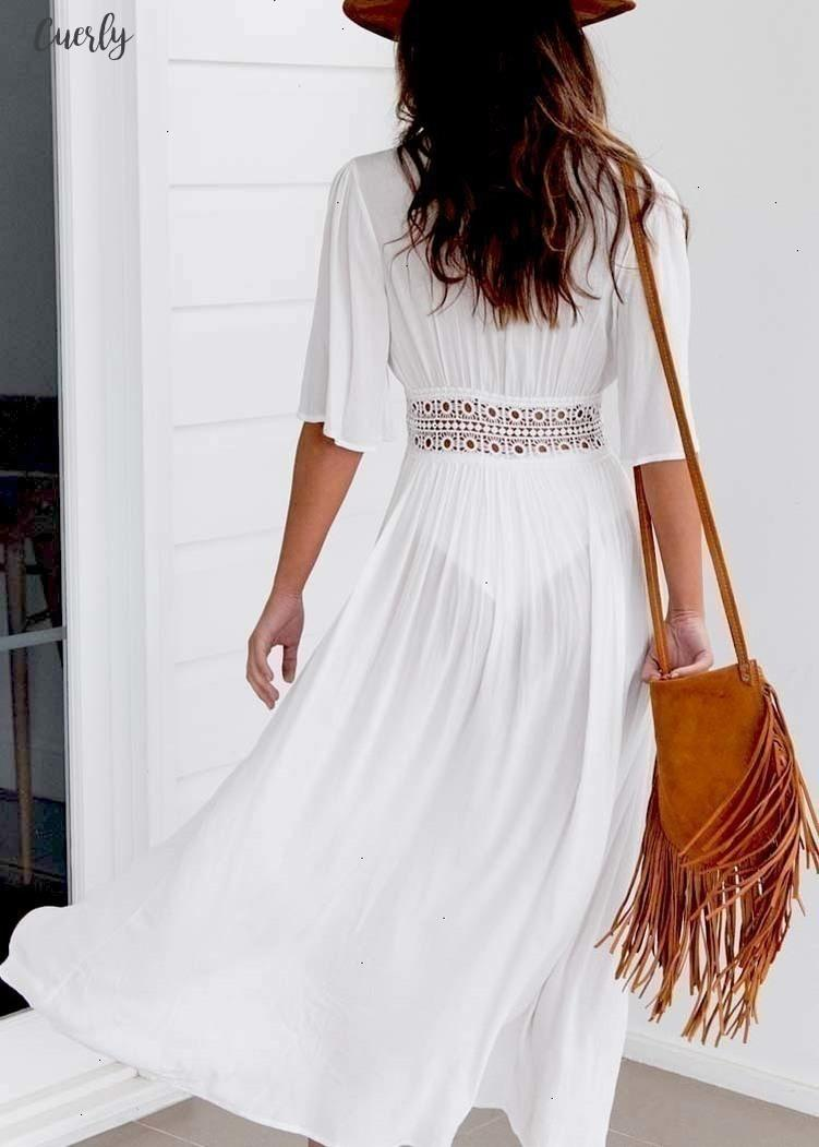 Ladies Sexy Women Bikini Cover Up Beach White Dress Swimwear Beachwear Bathing Suit Summer Dress Xxxl Designer Clothes