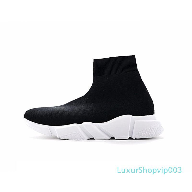 2020 nova moda Speed ​​Trainer Sock Sapatos Homens Mulheres Triplo Black Red White Glitter Volt Trainers Sneakers corredores Casual Sports [com a caixa]