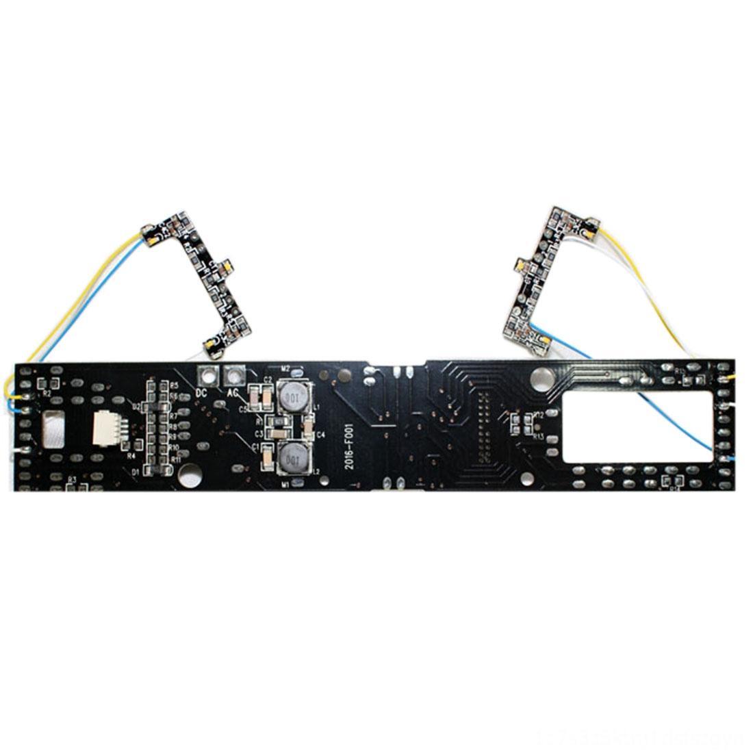 HO 1:87 Maßstab Bausätze Blöcke Modellbau Zug-Modell PCB-Leiterplatte mit Birnen-Licht-Ton für Sand Tabelle