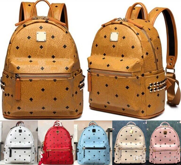luxury designer brand backpack school bag Latest fashion designer backpacks men women high quality back pack notebook computer bag