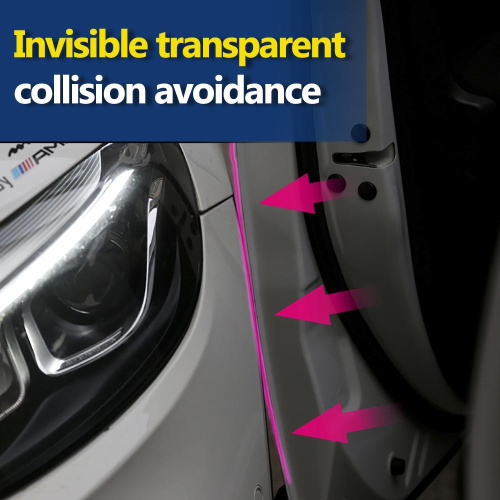 Car Door Body Interior Sill Edge Paint Anti-Scratch Protector Film Accessories