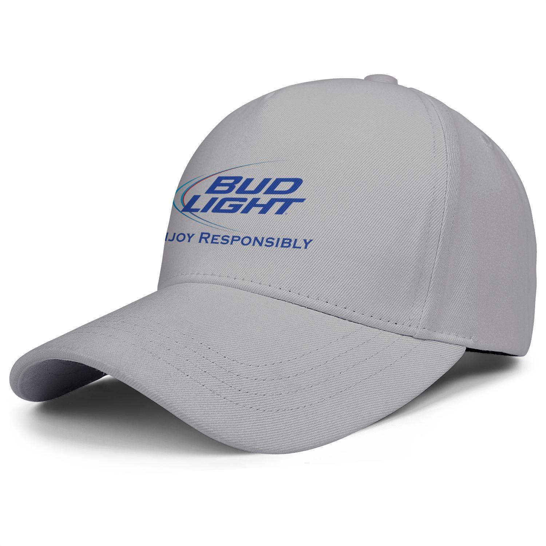 Budweiser bourgeon léger pour les hommes et les femmes meilleurs sports de camionneur de golf casquette réglable sur mesure baseballhats budweiser logos Bud Light Beer United